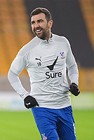 8th January 2021; Molineux Stadium, Wolverhampton, West Midlands, England; English FA Cup Football, Wolverhampton Wanderers versus Crystal Palace; James McArthur of Crystal Palace during the warm up