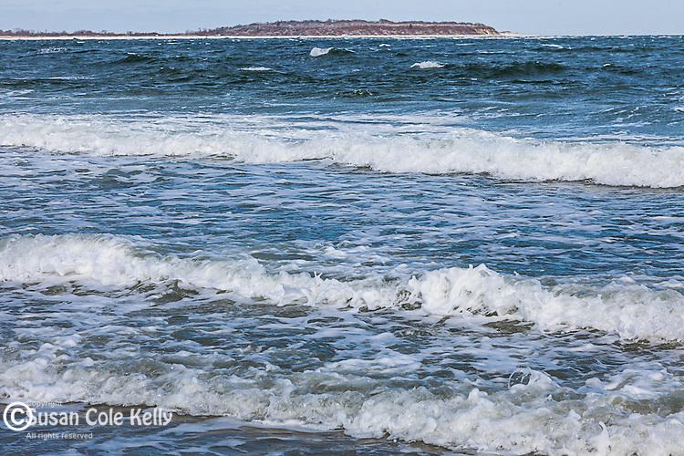 Winter at Crane Beach in Ipswich, Massachusetts, USA