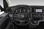 Car pictures of steering wheel view of a 2020 Opel Vivaro Innovation 4 Door Cargo Van