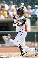 Jai Miller, Sacramento RiverCats against the Reno Aces at Raley Field, Sacramento, CA - 04/18/2010.Photo by:  Bill Mitchell/Four Seam Images.