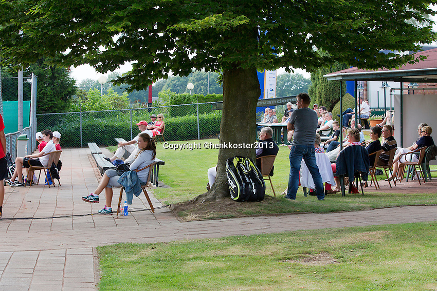 2013-08-17, Netherlands, Raalte,  TV Ramele, Tennis, NRTK 2013, National Ranking Tennis Champ, <br />  Ambiance<br /> <br /> Photo: Henk Koster