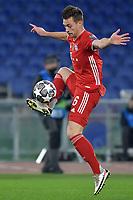 Joshua Kimmich of FC Bayern Munchen in action during the Champions League round of 16 football match between SS Lazio and Bayern Munchen at stadio Olimpico in Rome (Italy), February, 23th, 2021. Photo Andrea Staccioli / Insidefoto