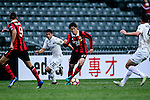 FC Seoul Midfielder Yoon Seung Won (c) is chased by Auckland City Forward Emiliano Tade (l) during the 2017 Lunar New Year Cup match between Auckland City FC (NZL) and FC Seoul ((KOR) on January 28, 2017 in Hong Kong, Hong Kong. Photo by Marcio Rodrigo Machado/Power Sport Images