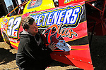 Feb 12, 2011; 11:05:51 AM; Gibsonton, FL., USA; The Lucas Oil Dirt Late Model Racing Series running The 35th annual Dart WinterNationals at East Bay Raceway Park.  Mandatory Credit: (thesportswire.net)