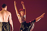County Youth Dance Company performing at the Taliesin Arts Centre in Swansea..