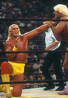 Hulk Hogan #Rick Flair 1994<br /> Photo By John Barrett/PHOTOlink