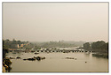 Inde<br /> Orcha<br /> Rivière Betwa