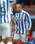 Kilmarnock team mates Josh Magennis and Jamie Hamill lose the plot and headbutt each other