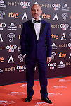 Javier Gutierrez attends to the Red Carpet of the Goya Awards 2017 at Madrid Marriott Auditorium Hotel in Madrid, Spain. February 04, 2017. (ALTERPHOTOS/BorjaB.Hojas)