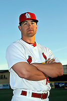 Mar 01, 2010; Jupiter, FL, USA; St. Louis Cardinals outfielder Tyler Henley (74) during  photoday at Roger Dean Stadium. Mandatory Credit: Tomasso De Rosa/ Four Seam Images