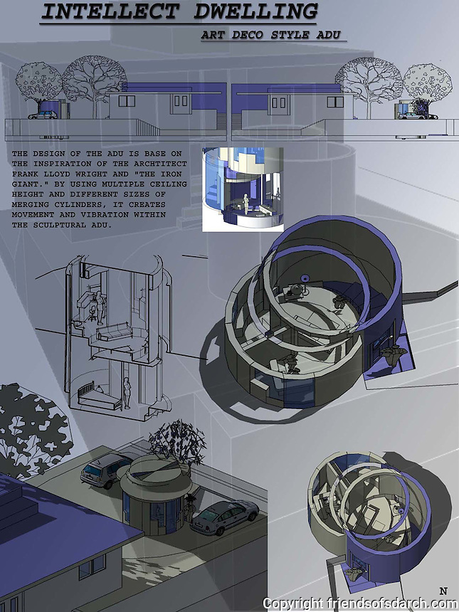 Student entry in FSDA's ADU Competition 2004.Annie N. Nguyen.
