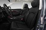 Front seat view of 2017 Infiniti QX50 - 5 Door Suv Front Seat  car photos