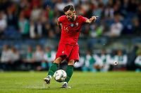 Bruno Fernandes of Portugal has a shot on goal during the UEFA Nations League Final match between Portugal and Netherlands at Estadio do Dragao on June 9th 2019 in Porto, Portugal. (Photo by Daniel Chesterton/phcimages.com)<br /> Finale <br /> Portogallo Olanda<br /> Photo PHC/Insidefoto <br /> ITALY ONLY