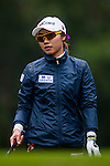 Hye Youn Kim of Korea in action during the Hyundai China Ladies Open 2014 on December 12 2014, in Shenzhen, China. Photo by Xaume Olleros / Power Sport Images