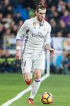 Garet Bale of Real Madrid during the match of Spanish La Liga between Real Madrid and UD Las Palmas at  Santiago Bernabeu Stadium in Madrid, Spain. March 01, 2017. (ALTERPHOTOS / Rodrigo Jimenez)