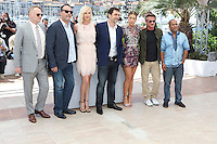 Jared Harris, Jean Reno, Charlize Theron, Javier Bardem, Adele Exarchopoulos and Sean Penn Zubin Cooper attends ' the last face' Photocall durig The 69th Annual Cannes Film Festival on May 20, 2016 in Cannes