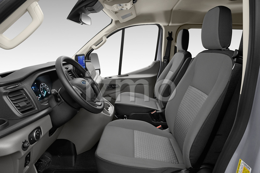 Front seat view of 2021 Ford Transit XLT 4 Door Passenger Van Front Seat  car photos