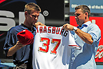 2009-08-21 MLB: Strasburg Introduced