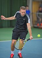 Rotterdam, Netherlands, Januari 24, 2016,  ABNAMROWTT Supermatch, Wouter Standaart (NED)<br /> Photo: Tennisimages/Henk Koster