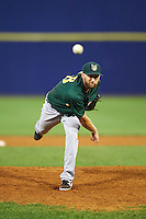Lynchburg Hillcats relief pitcher Trevor Frank (46) during a game against the Wilmington Blue Rocks on June 3, 2016 at Judy Johnson Field at Daniel S. Frawley Stadium in Wilmington, Delaware.  Lynchburg defeated Wilmington 16-11 in ten innings.  (Mike Janes/Four Seam Images)