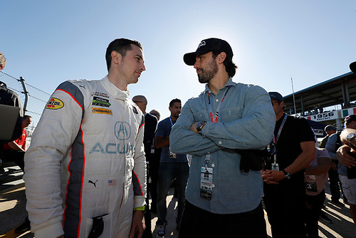 Milo Ventimiglia, #6 Acura Team Penske Acura DPi, P: Dane Cameron