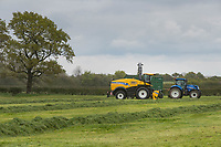14-5-2021 Contractors chopping grass silage in the Vale Of Belvior in Leicestershire <br /> ©Tim Scrivener Photographer 07850 303986<br />      ....Covering Agriculture In The UK....