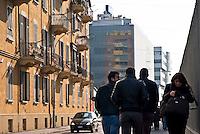 Sesto San Giovanni (Milano), vecchi e nuovi palazzi --- Sesto San Giovanni (Milan), old and new buildings