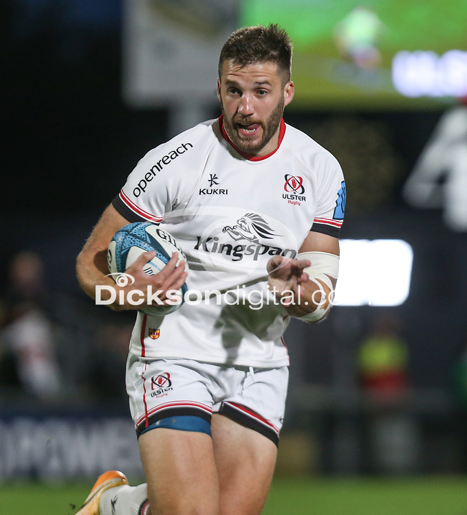 Friday 24th September 2021<br /> <br /> Stuart McCloskey during the URC Round 1 clash between Ulster Rugby and Glasgow Warriors at Kingspan Stadium, Ravenhill Park, Belfast, Northern Ireland. Photo by John Dickson/Dicksondigital