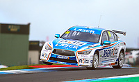 30th August 2020; Knockhill Racing Circuit, Fife, Scotland; Kwik Fit British Touring Car Championship, Knockhill, Race Day; Ashley Sutton over the curbs in during round 10 of the BTCC