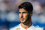 Marco Asensio of Real Madrid reacts during the La Liga 2017-18 match between Getafe CF and Real Madrid at Coliseum Alfonso Perez on 14 October 2017 in Getafe, Spain. Photo by Diego Gonzalez / Power Sport Images