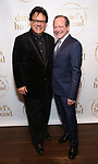 """Joe Brancato and Michael McKeever during the Opening Night Celebration for """"Daniel's Husband"""" at the West Bank on October 28, 2018 in New York City."""