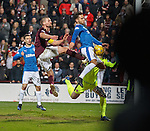 Harry Forrester scores but the goal is disallowed