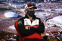 23rd September 2021; Sochi, Russia;   F1 Grand Prix of Russia 7 Kimi Raikkonen FIN, Alfa Romeo Racing ORLEN, F1 Grand Prix of Russia at Sochi Autodrom