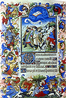 Visual Arts:  Book of Hours, French, 1407.  Oxford Library.