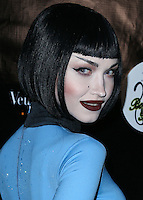 WEST HOLLYWOOD, CA, USA - OCTOBER 31: Ivy Levan arrives at Adam Lambert's 2nd Annual Halloween Bash held at Bootsy Bellows on October 31, 2014 in West Hollywood, California, United States. (Photo by Xavier Collin/Celebrity Monitor)