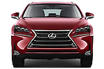 Car photography straight front view of a 2015 Lexus NX NX 200t 5 Door SUV Front View