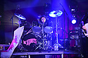FORT LAUDERDALE, FL - SEPTEMBER 01: Drummer Gethin Davies of The Struts performs live on stage at Revolution Live on September 1, 2021 in Fort Lauderdale, Florida.  ( Photo by Johnny Louis / jlnphotography.com )