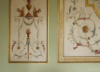 An example of the last surviving work of the French painters Girard and Guinand who decorated the walls and ceiling of the State Dining Room