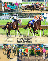 Come Sundown winning The First State Dash at Delaware Park on 9/29/18