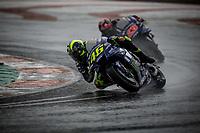 VALENTINO ROSSI - ITALIAN - MOVISTAR YAMAHA MotoGP - YAMAHA<br /> MAVERICK VINALES - SPANISH - MOVISTAR YAMAHA MotoGP - YAMAHA<br /> Valencia 18-11-2018 <br /> Moto Gp Spagna<br /> Foto Vincent Guignet / Panoramic / Insidefoto