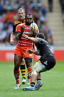 Vereniki Goneva of Leicester Tigers in action