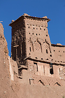 Tower at Ait Ben Haddou, Morocco