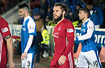 St Johnstone v Aberdeen…13.12.17…  McDiarmid Park…  SPFL<br />Stevie May returns to McDiarmid Park<br />Picture by Graeme Hart. <br />Copyright Perthshire Picture Agency<br />Tel: 01738 623350  Mobile: 07990 594431