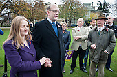 Mark Reckless and his wife.  UKIP leader Nigel Farage, ex-Tory MP Mark Reckless, the UKIP candidate, campaign in Rochester before the Rocester and Strood by-election.