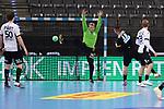 Jannik Kohlbacher (GER) kommt frei zum Wurf bei der Euro-Qualifikation im Handball, Deutschland - Estland.<br /> <br /> Foto © PIX-Sportfotos *** Foto ist honorarpflichtig! *** Auf Anfrage in hoeherer Qualitaet/Aufloesung. Belegexemplar erbeten. Veroeffentlichung ausschliesslich fuer journalistisch-publizistische Zwecke. For editorial use only.
