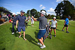 Kerry Mountcastle celebrates winning the final. Day four of the Brian Green Property Group NZ Super 6s Manawatu at Manawatu Golf Club in Palmerston North, New Zealand on Sunday, 28 February 2021. Photo: Dave Lintott / lintottphoto.co.nz