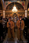 Holy Saturdy at the Greek Catholic in Jerusalem