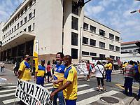 11/09/2020 - PROTESTO FUNCIONÁRIOS DOS CORREIOS