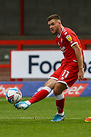 Tyler Frost of Crawley Town during Crawley Town vs Morecambe, Sky Bet EFL League 2 Football at Broadfield Stadium on 17th October 2020