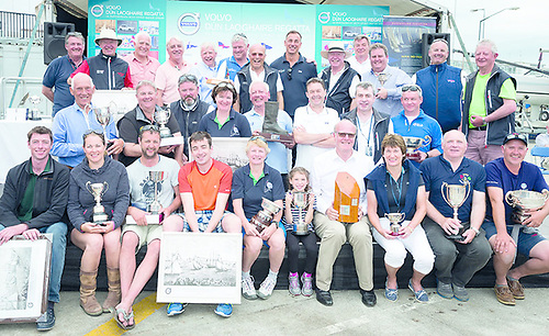 Once upon a time…..in times past, as at the Kingstown Harbour Centenary VDLR Regatta in 2017, social distancing was unknown, but for 2021 things will have to be done differently. Photo: VDLR